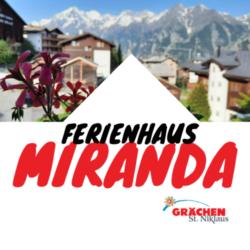 Ferienwohnungen Miranda Grächen